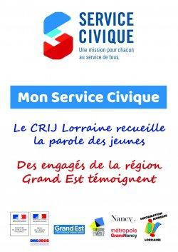 ''Mon Service Civique'', le recueil de témoignages de jeunes engagés de la région Grand Est