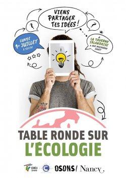 Rencontre des 15-25 ans sur la transition écologique le 1er juillet à Nancy