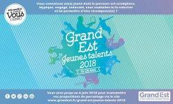 Grand Est Jeunes Talents 2018