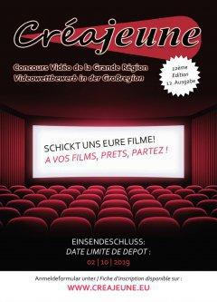Concours vidéo transfrontalier Créajeune, 12ème édition, c'est parti !
