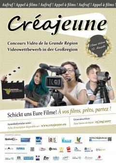 Appel à films pour le Concours Vidéo Transfrontalier Créajeune